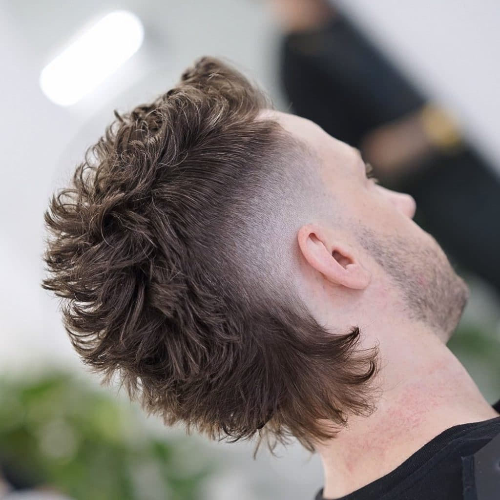 a mohawk fade haircut