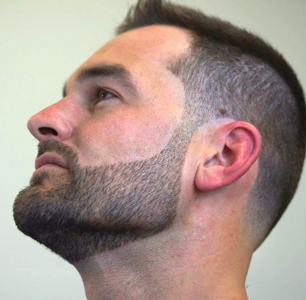 At Home Undercut For Men
