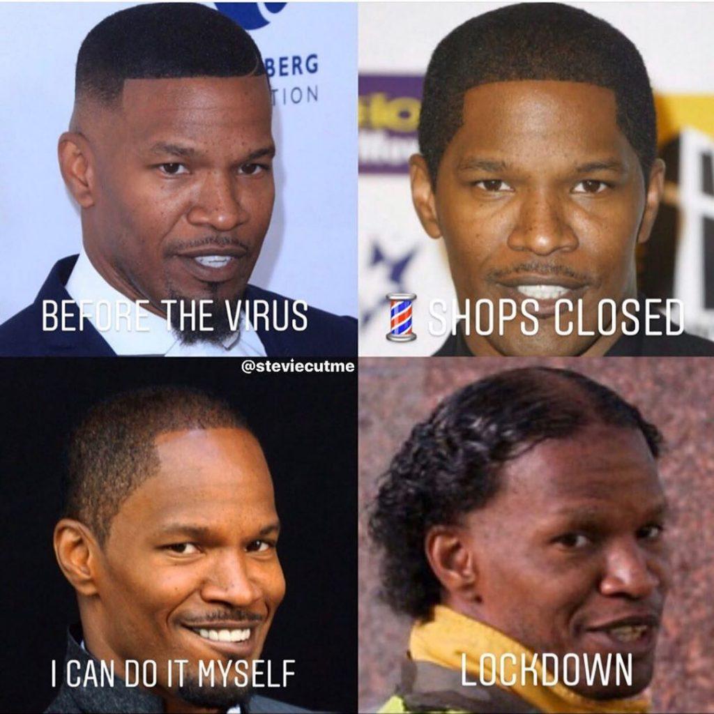 covid haircut