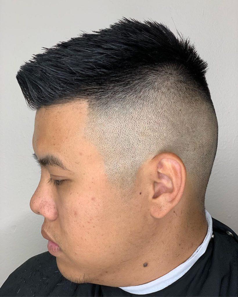 Spiky Hair + Undercut