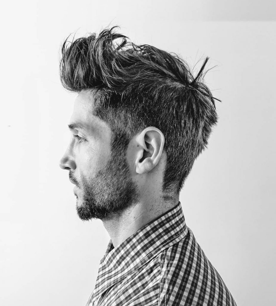 Messy Haircut Styles For Men