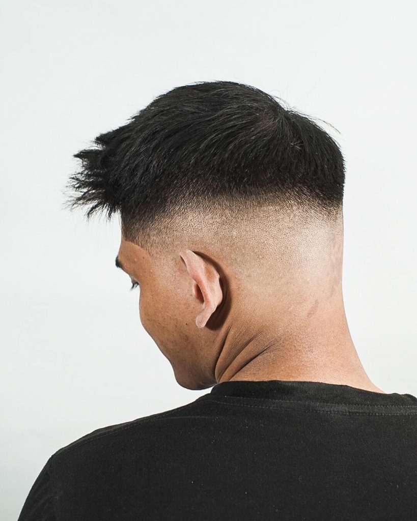 high mid fade haircut