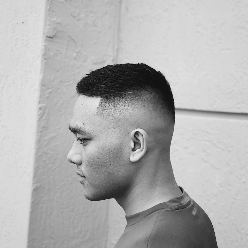 short haircut for Asian men