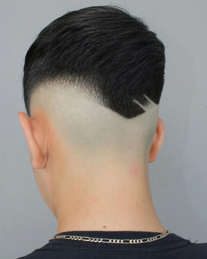 mid fade haircut design