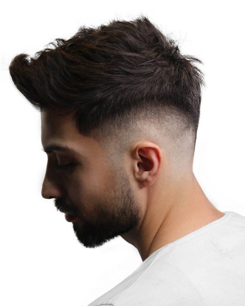 mid fade haircut straight hair