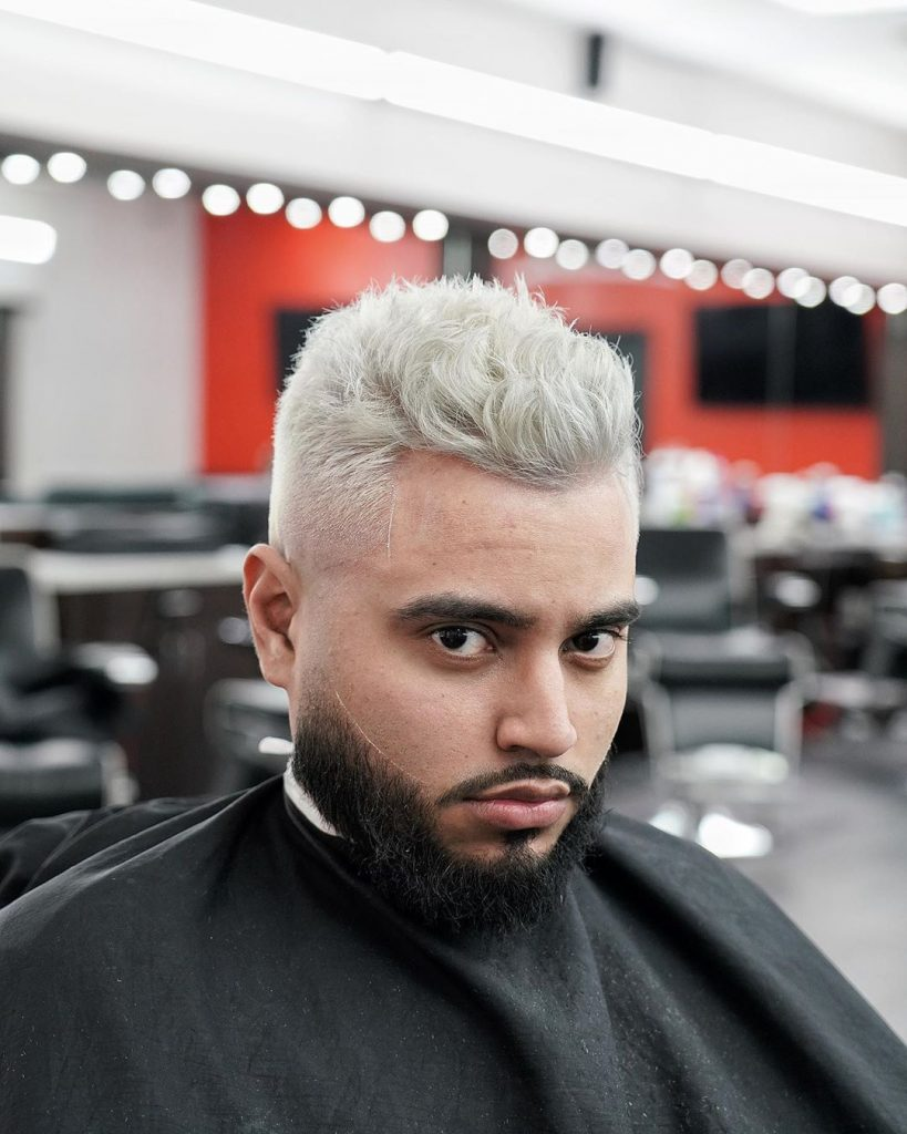 blonde hair for men