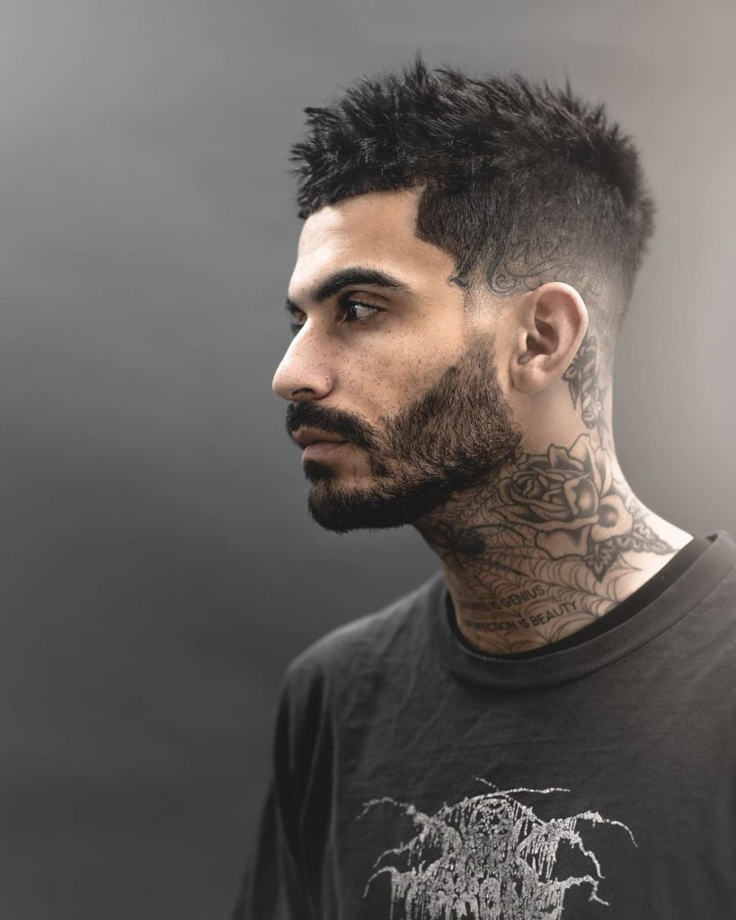 Short messy mens hairstyles