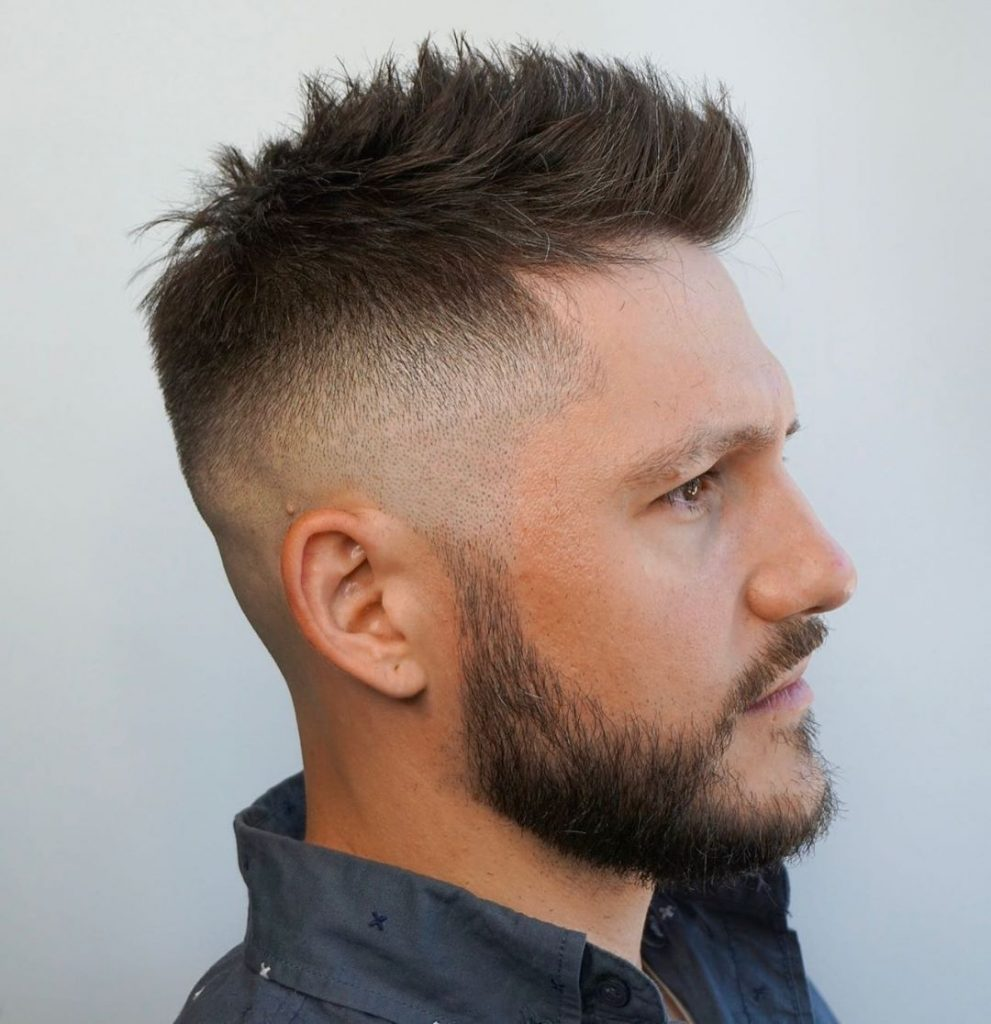 Short Spiky Hair for Men