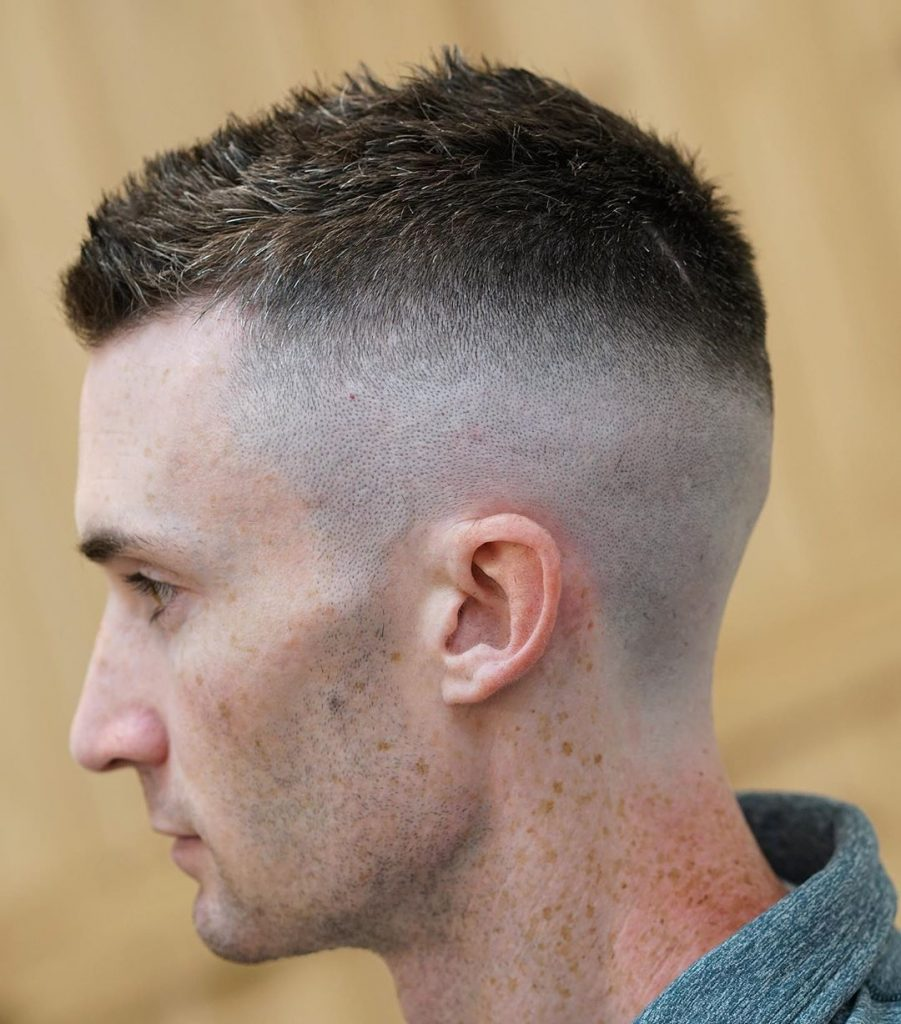 high and tight for thick hair men