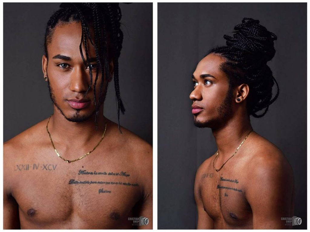 Braids for men with long hair
