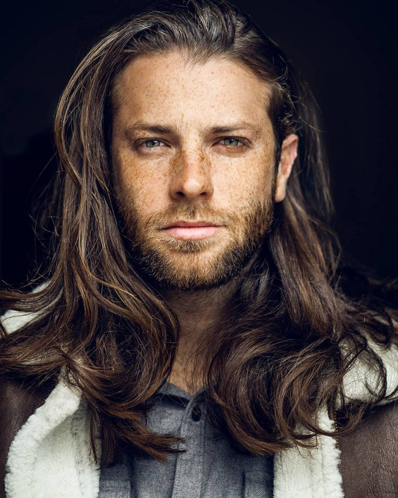 Men's haircuts for long thick hair