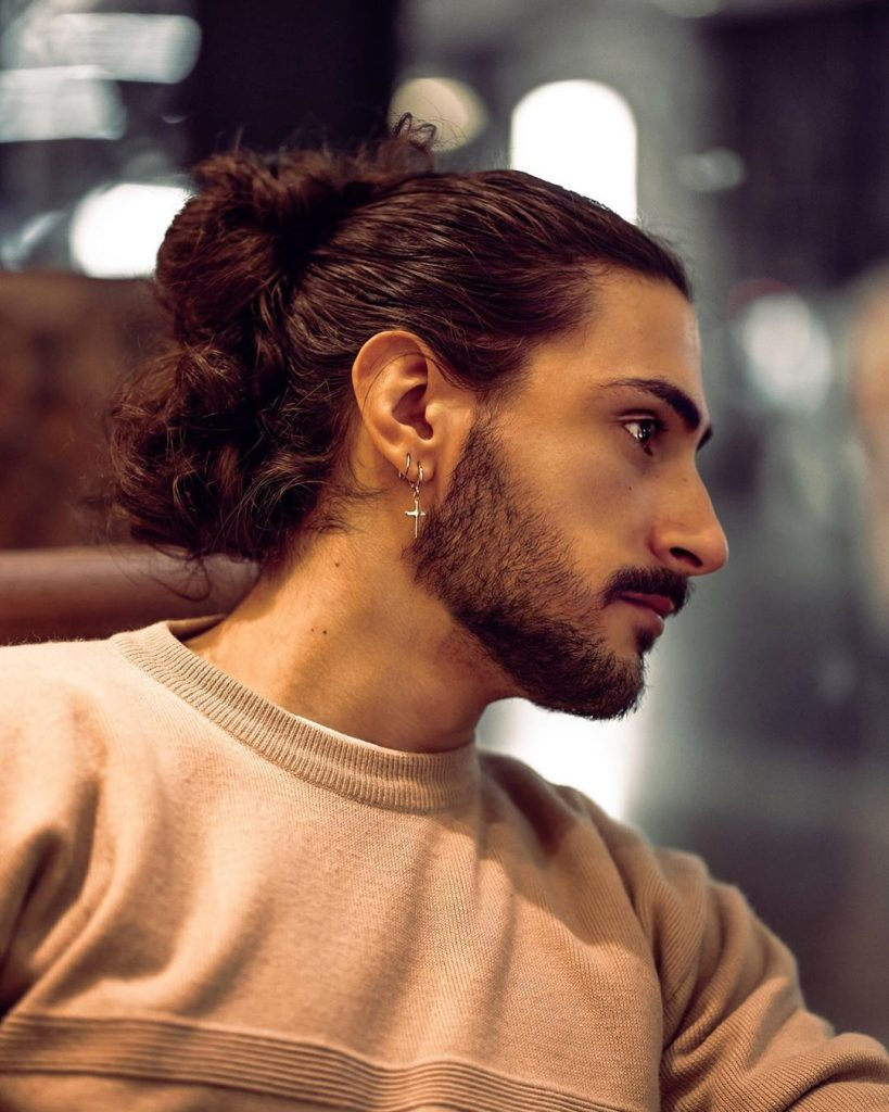 21 Man Bun Styles Keep Your Long Hair Pulled Back Looking Stylish