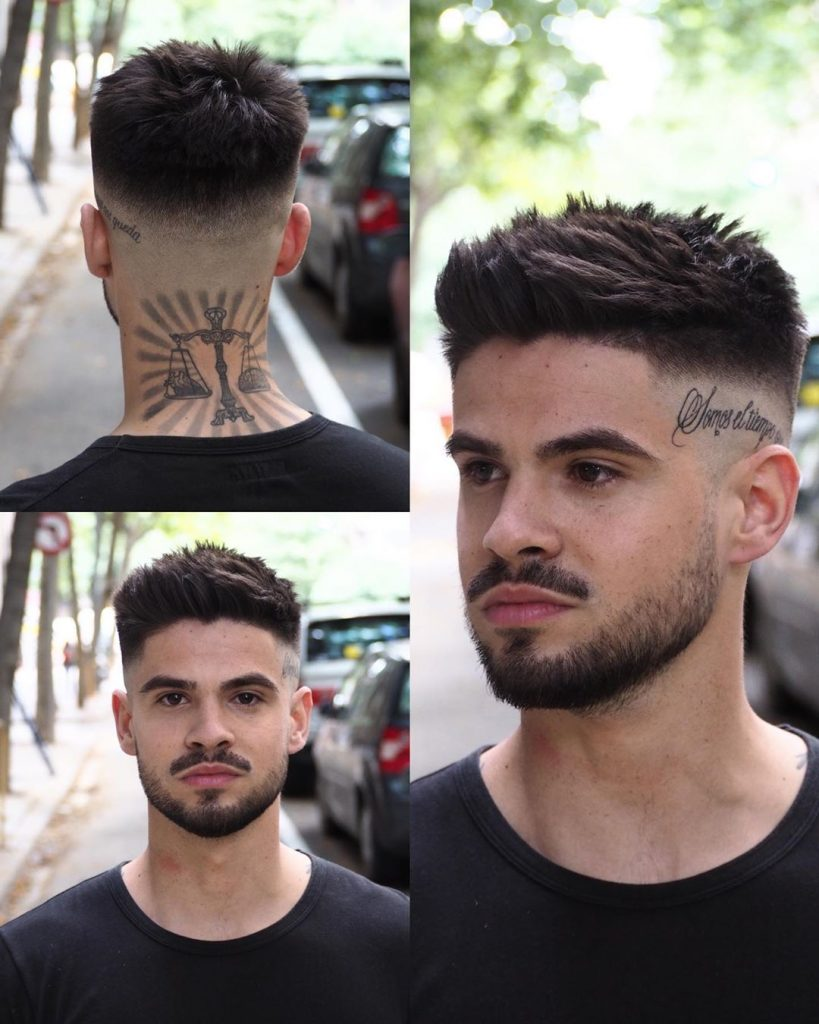 Spiky hairstyles for thick hair men