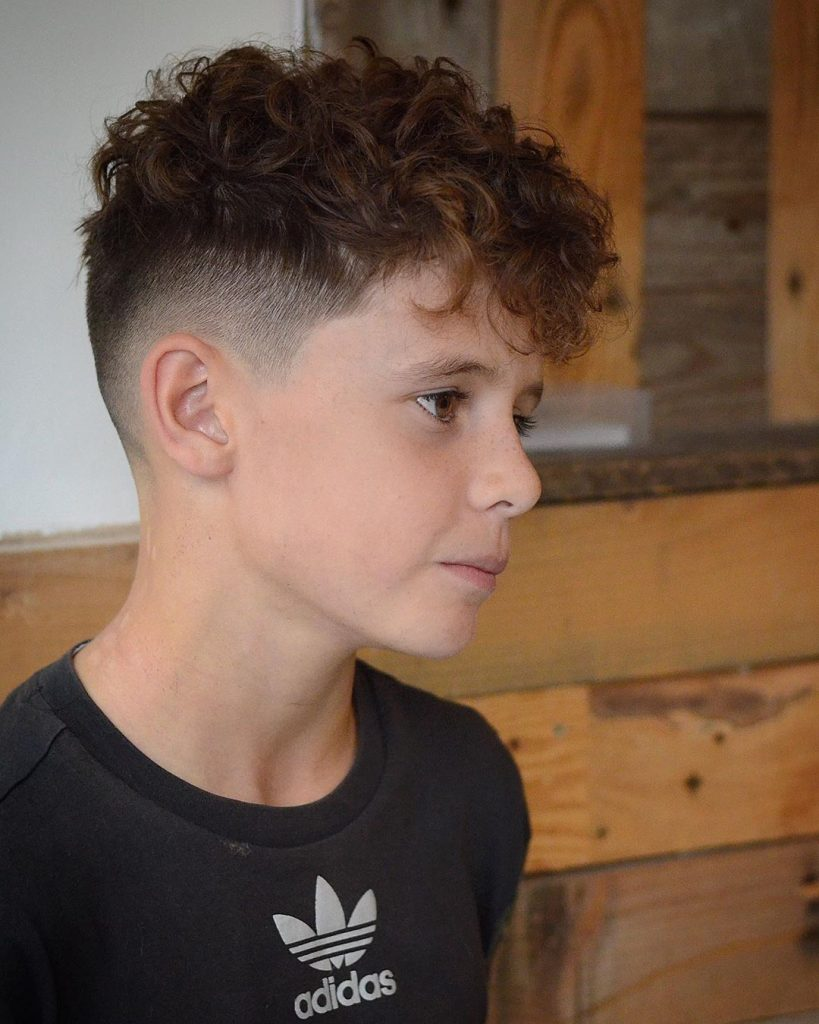 Curly haircuts for boys