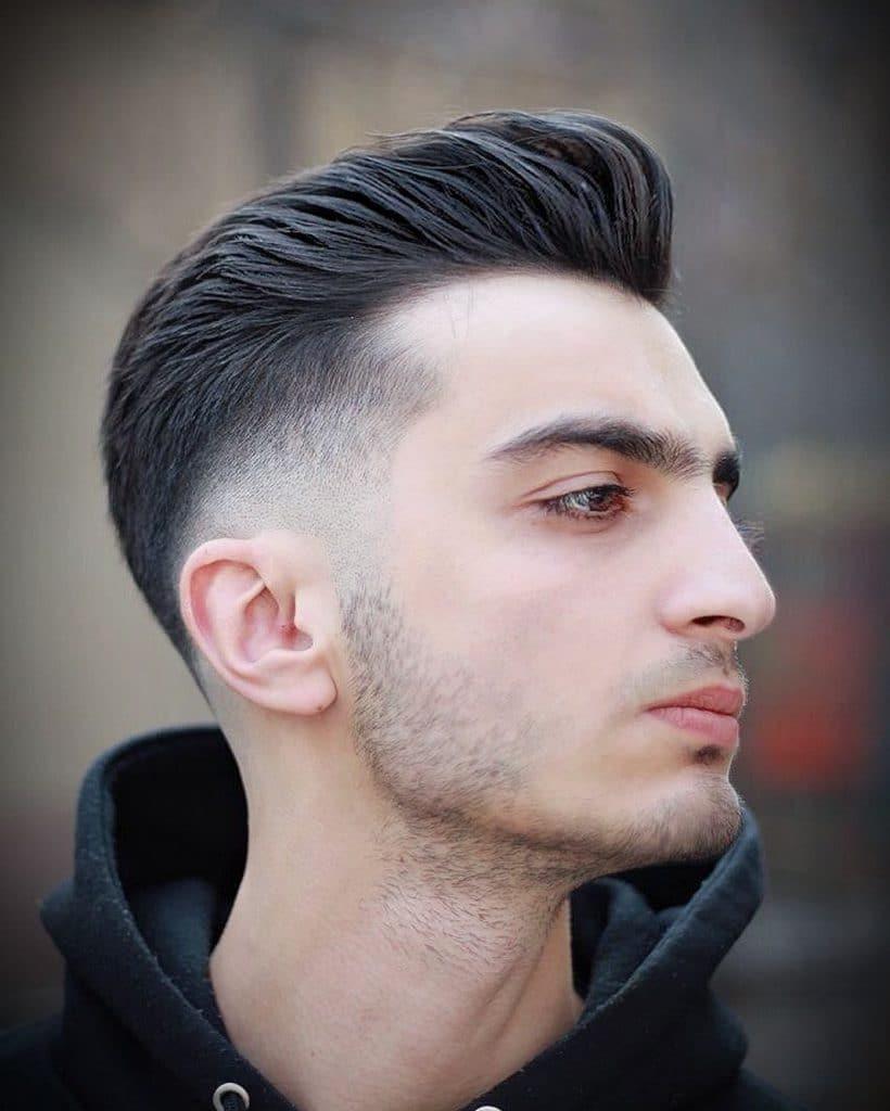 Bald fade haircuts for white guys