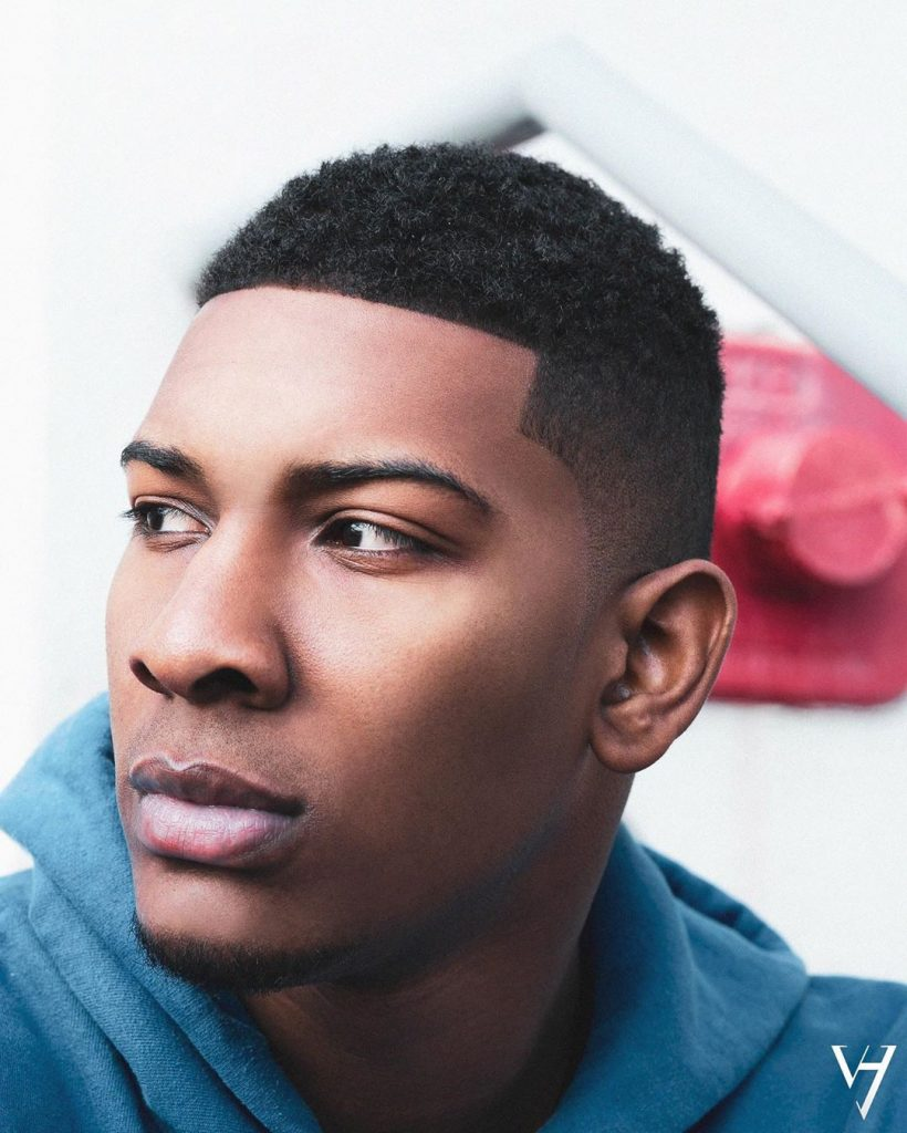 Short fade hairstyles for black men