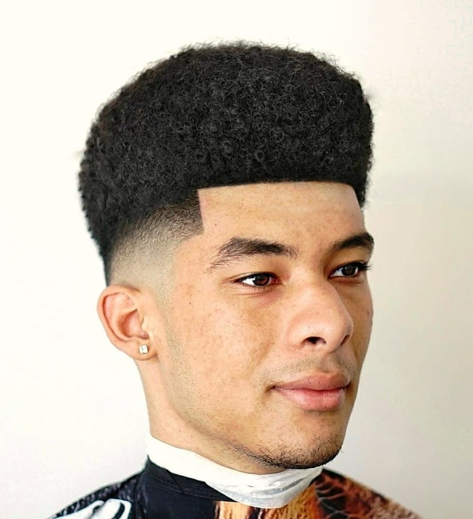 Cool Bald Fade Haircut For Black Men