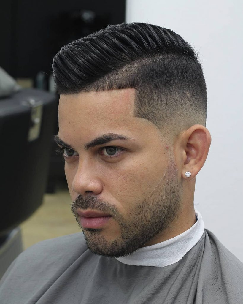 Fade combover hairstyles short hair