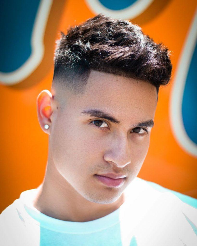 Short fade haircut for thick hair men