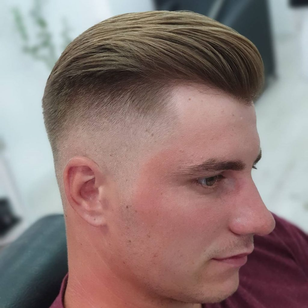 High-low fade