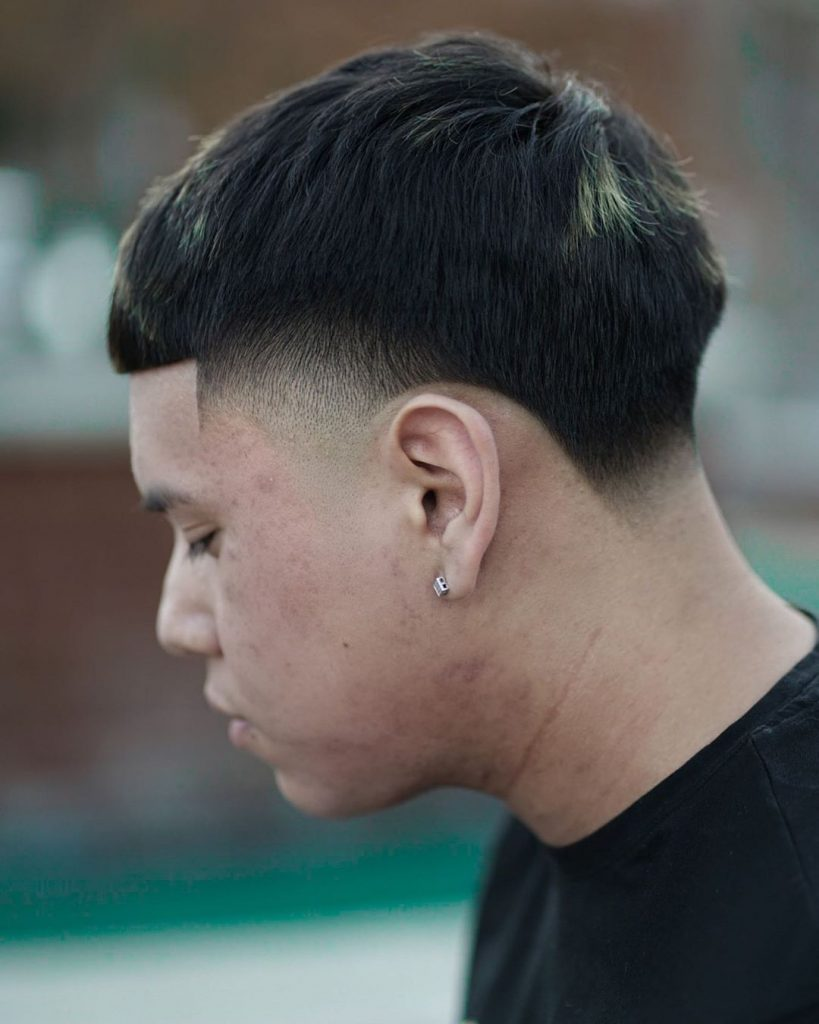 Temple Taper Fade Haircut
