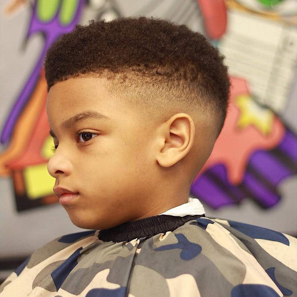 Black toddler boy haircuts