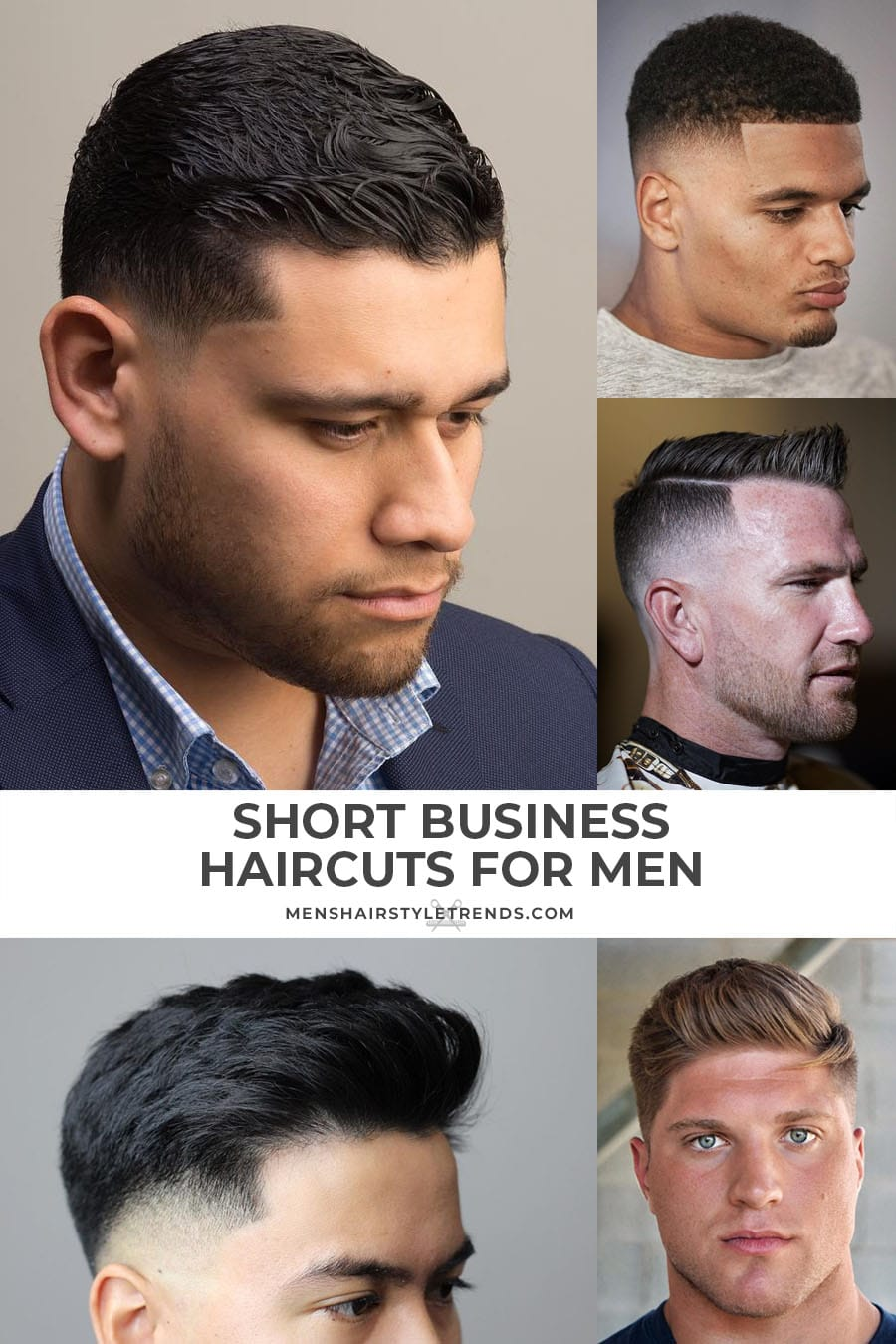 Short haircuts for business men and professional guys