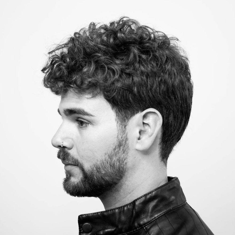 Classic men's haircut