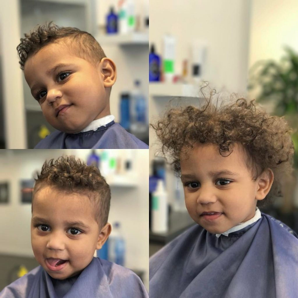 Toddler boy haircuts for fine curly hair
