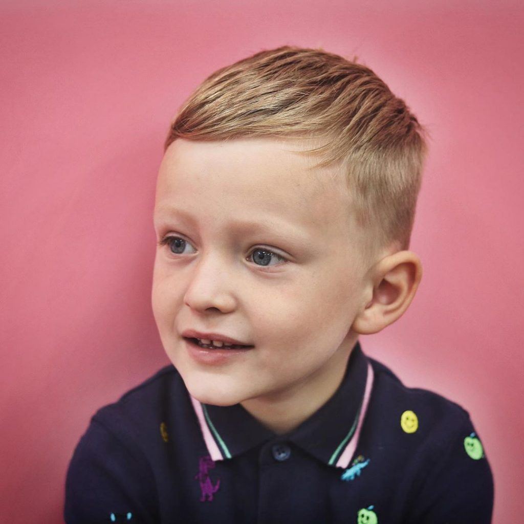 Toddler Boy Haircut