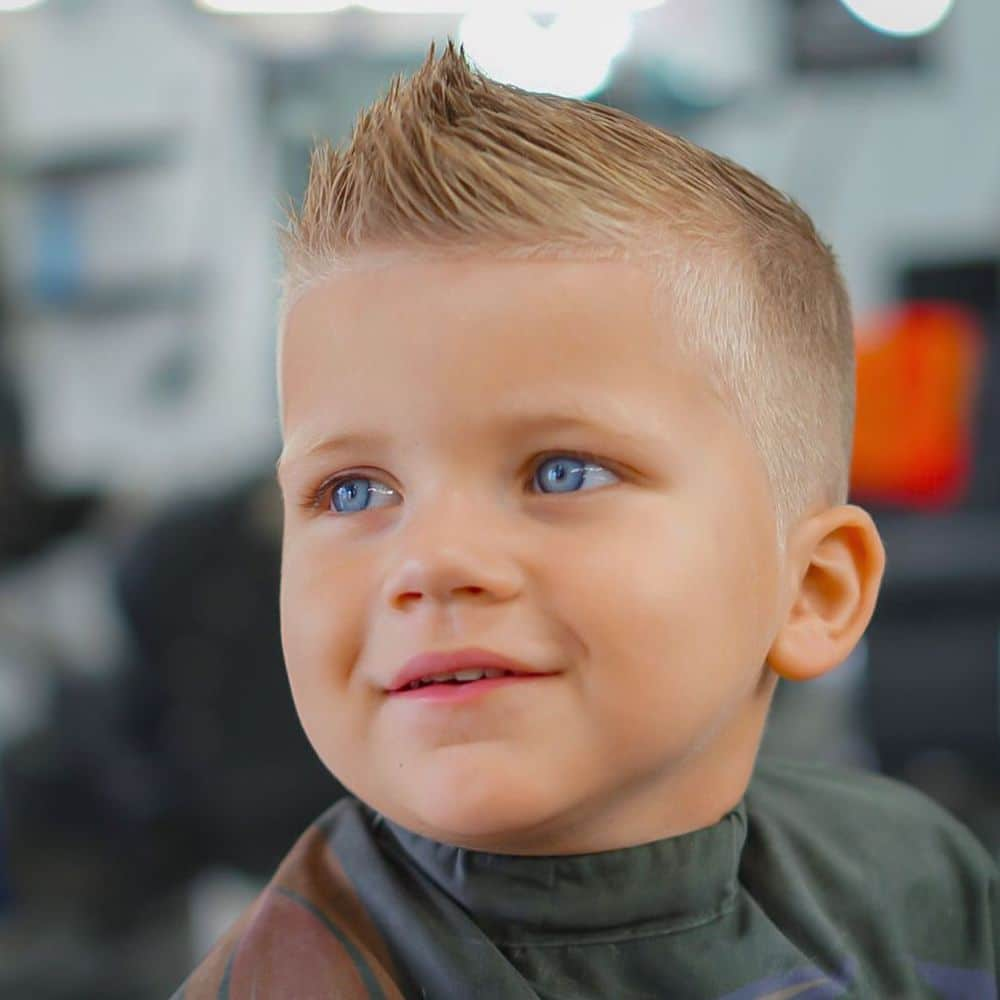 Short toddler boy haircuts