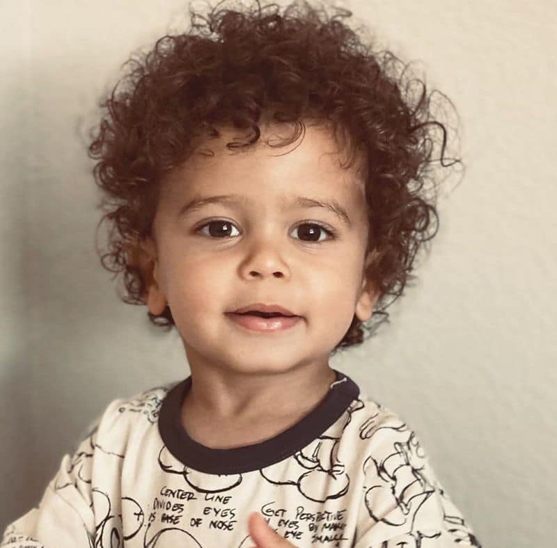 Toddler Boy Haircuts For Curly Hair