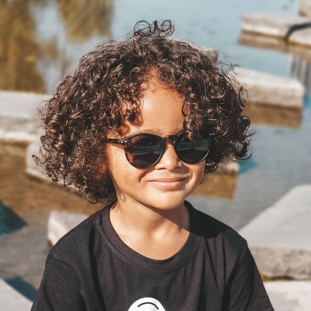 Toddler boy haircuts for long curly hair