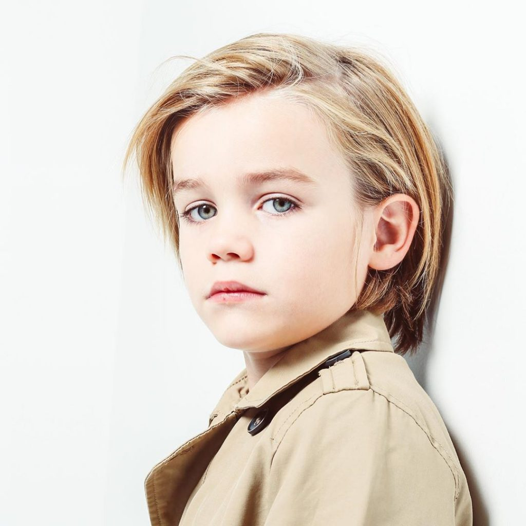 Long Hair For Toddler Boys