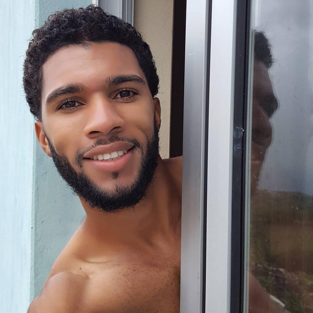 Short curly hair Black men