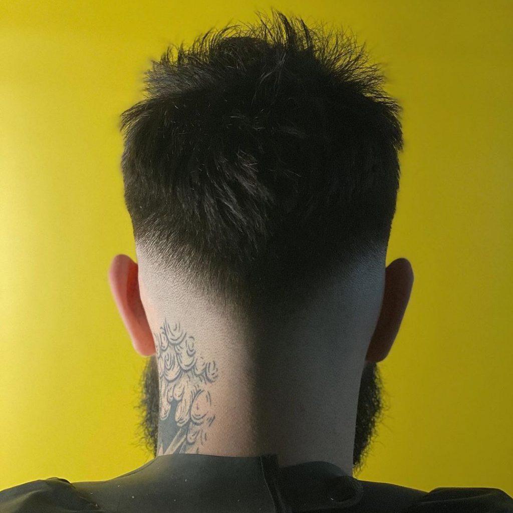 0 skin fade haircut
