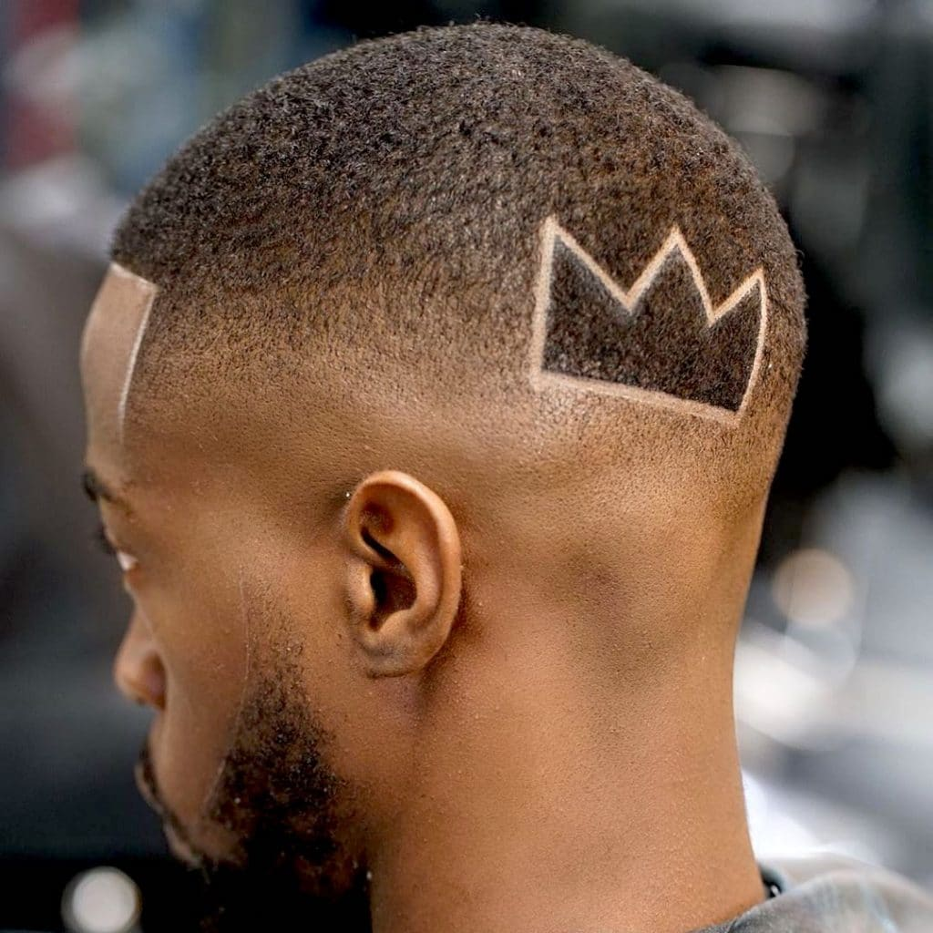 Skin fade haircut designs