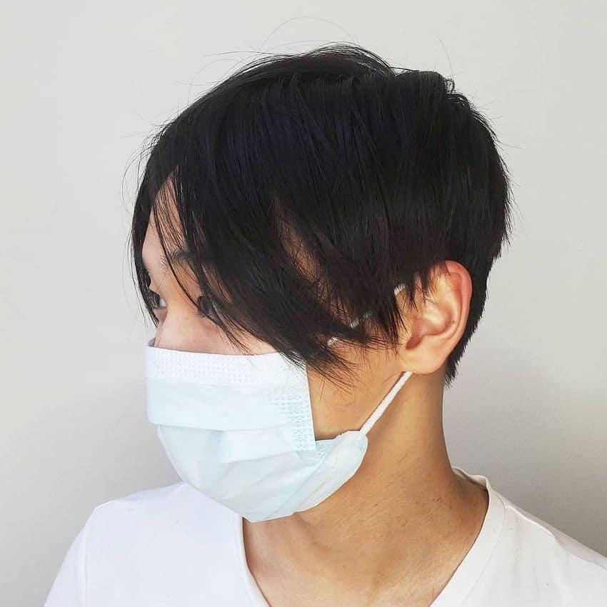 New curtain haircut