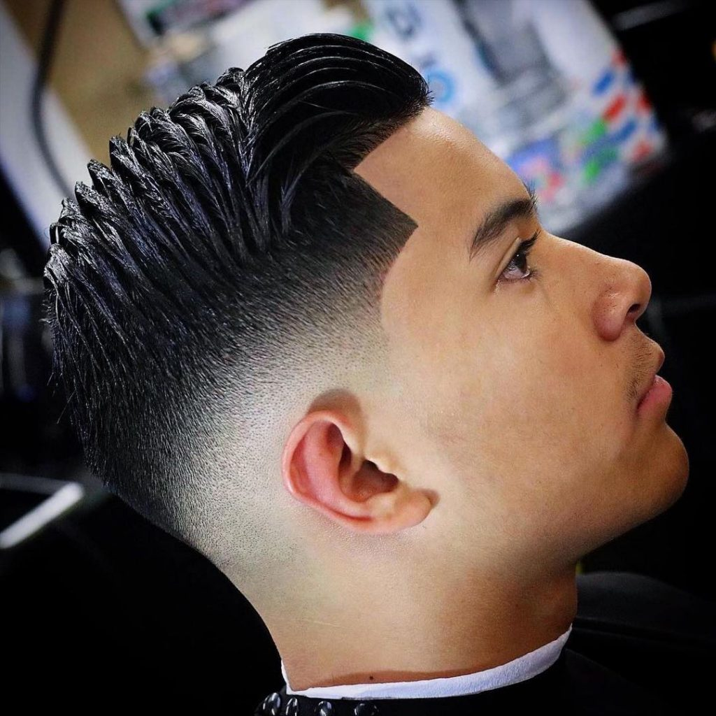 Fade haircuts for young men