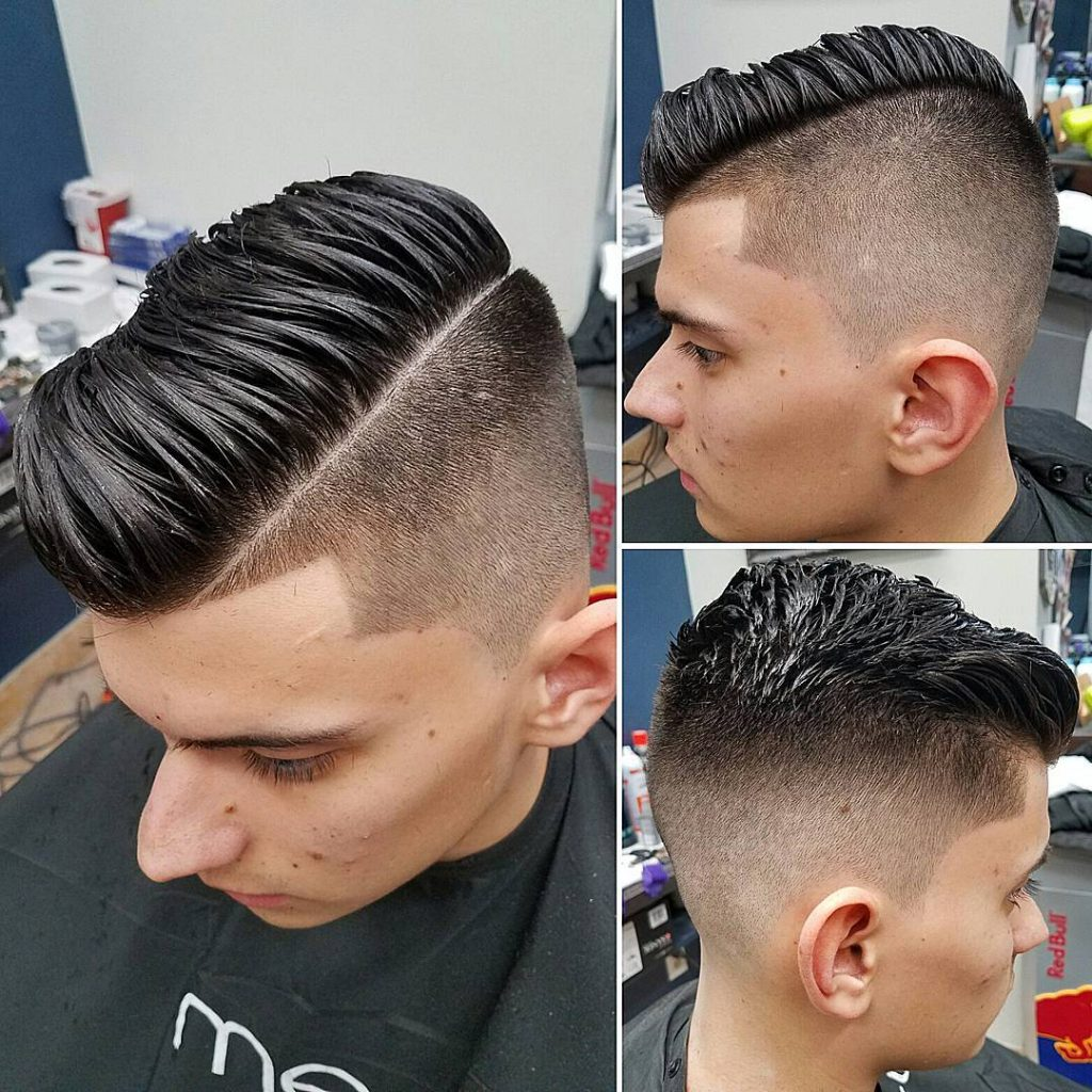 Disconnected undercut hairstyles