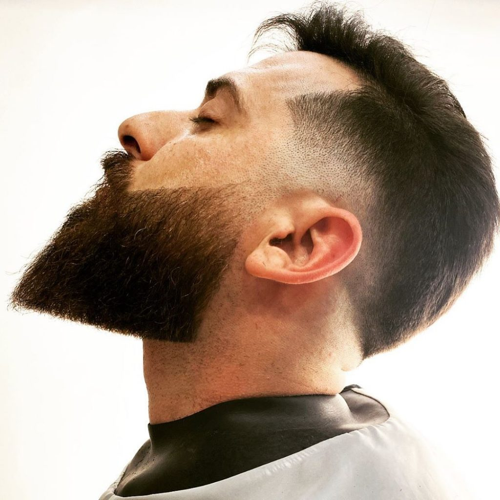 Long beard fade styles