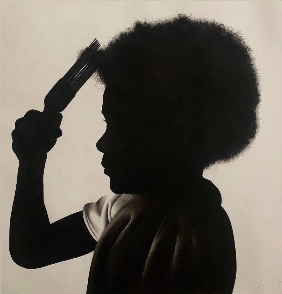 How to Pick An Afro by Michael K Wilson Art
