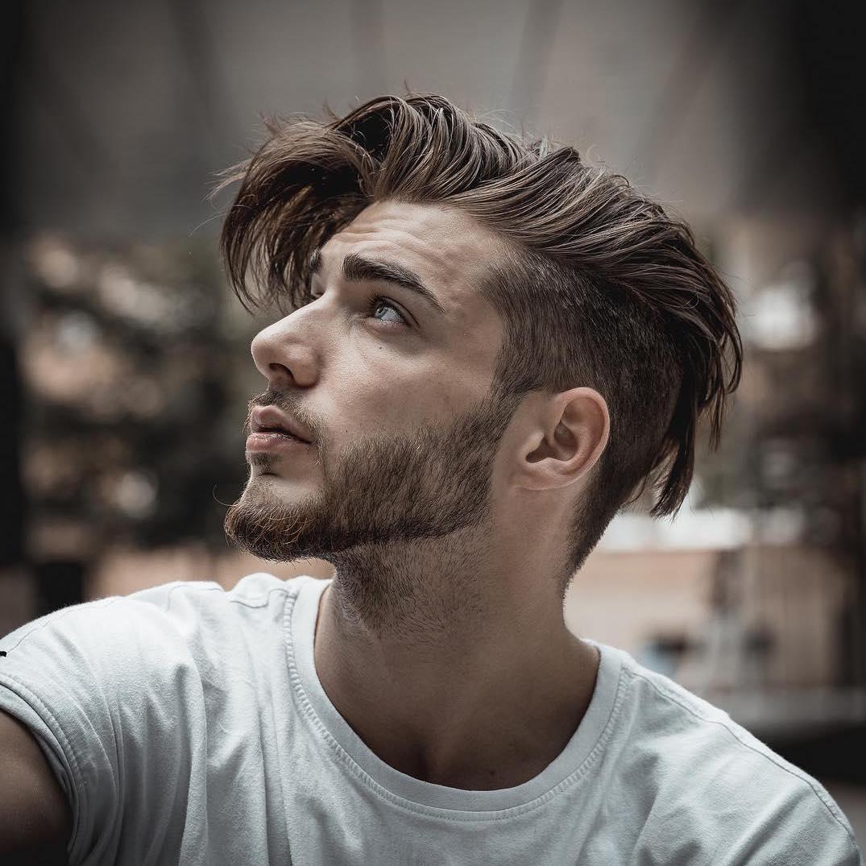Cool undercut haircut for men