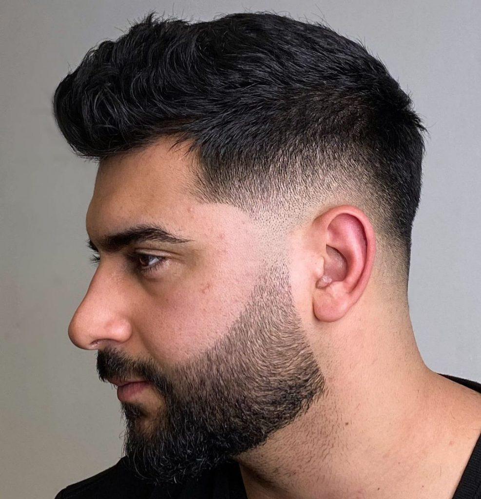 Short beard fade styles