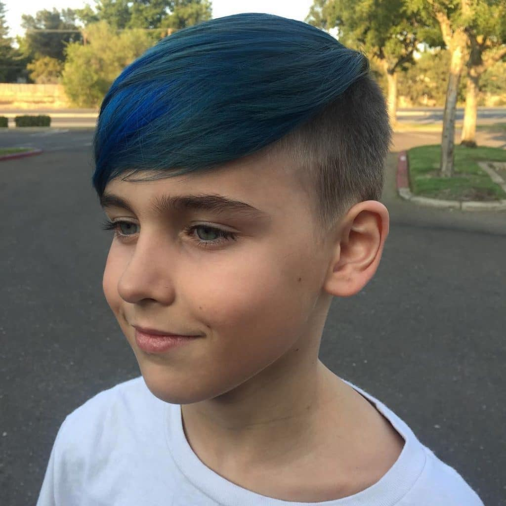 Skater hair for boys