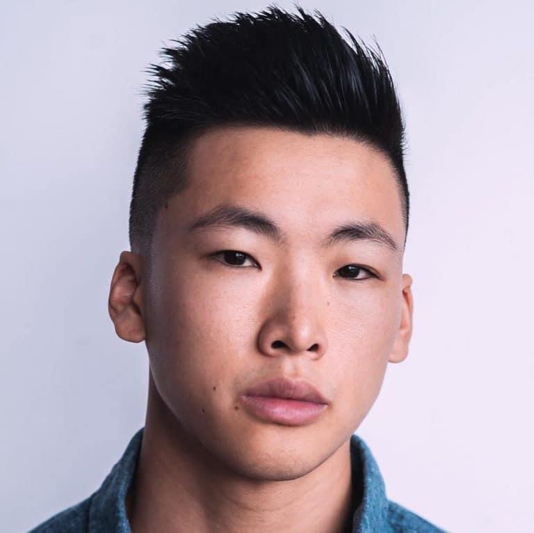 short men's Asian hairstyles