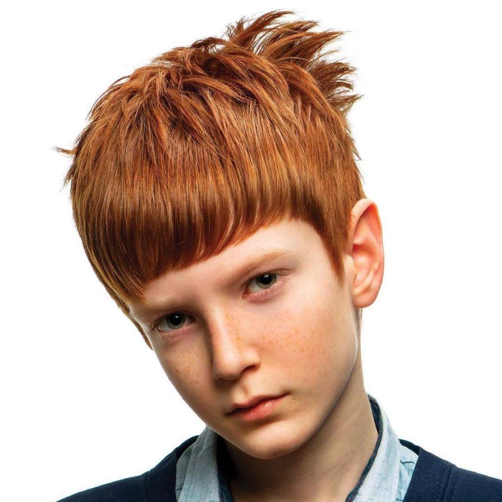 Mop top crop for boys