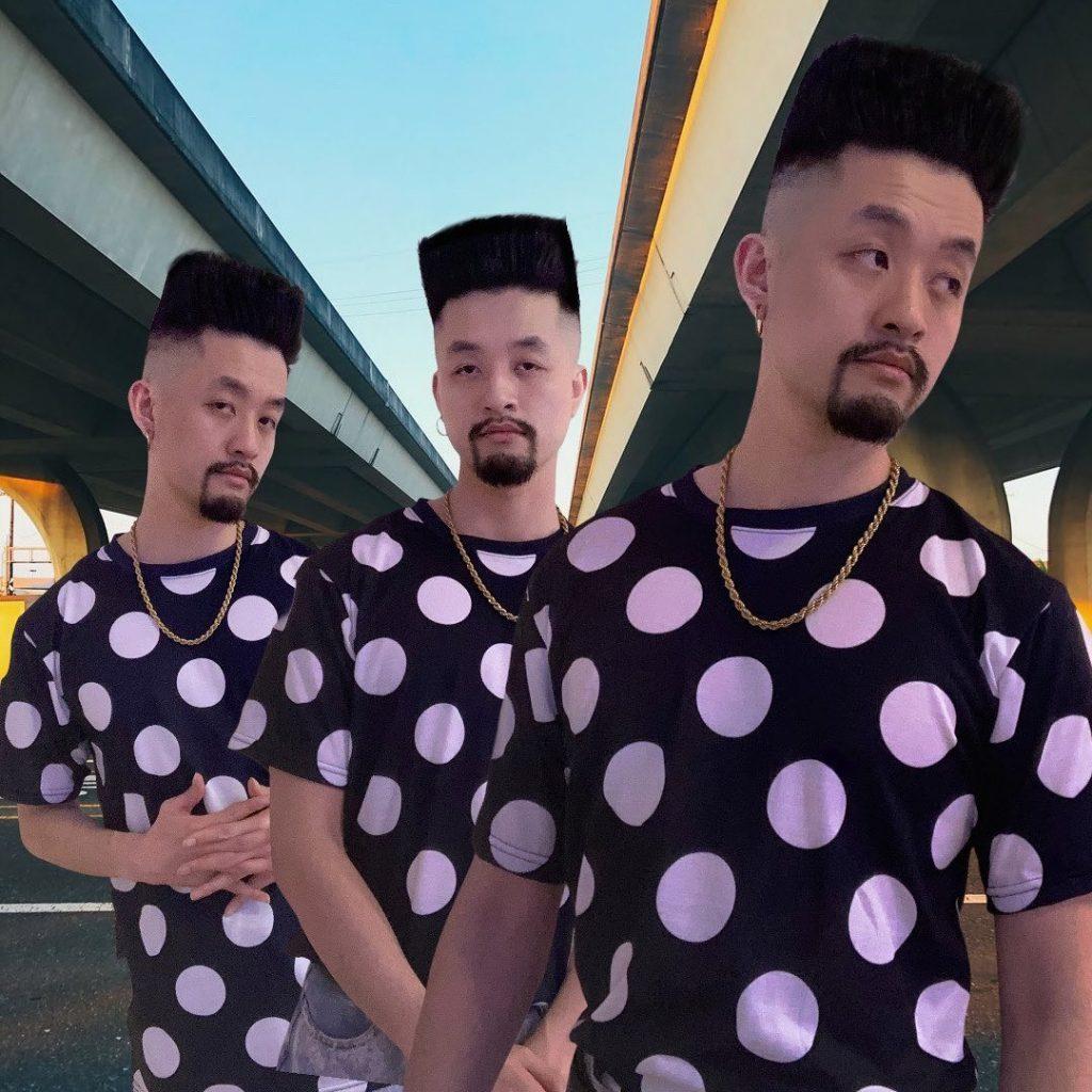 Flat top haircut Asian