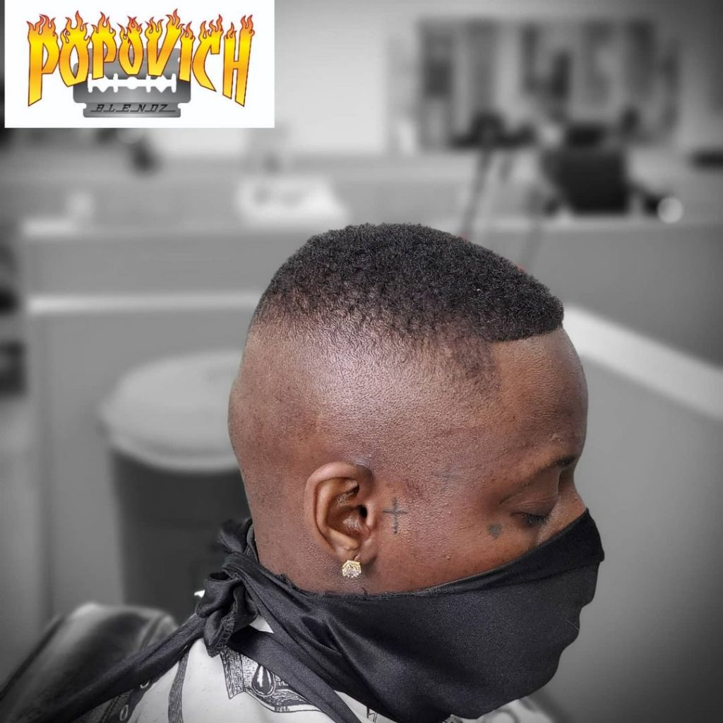 Boosie fade haircut