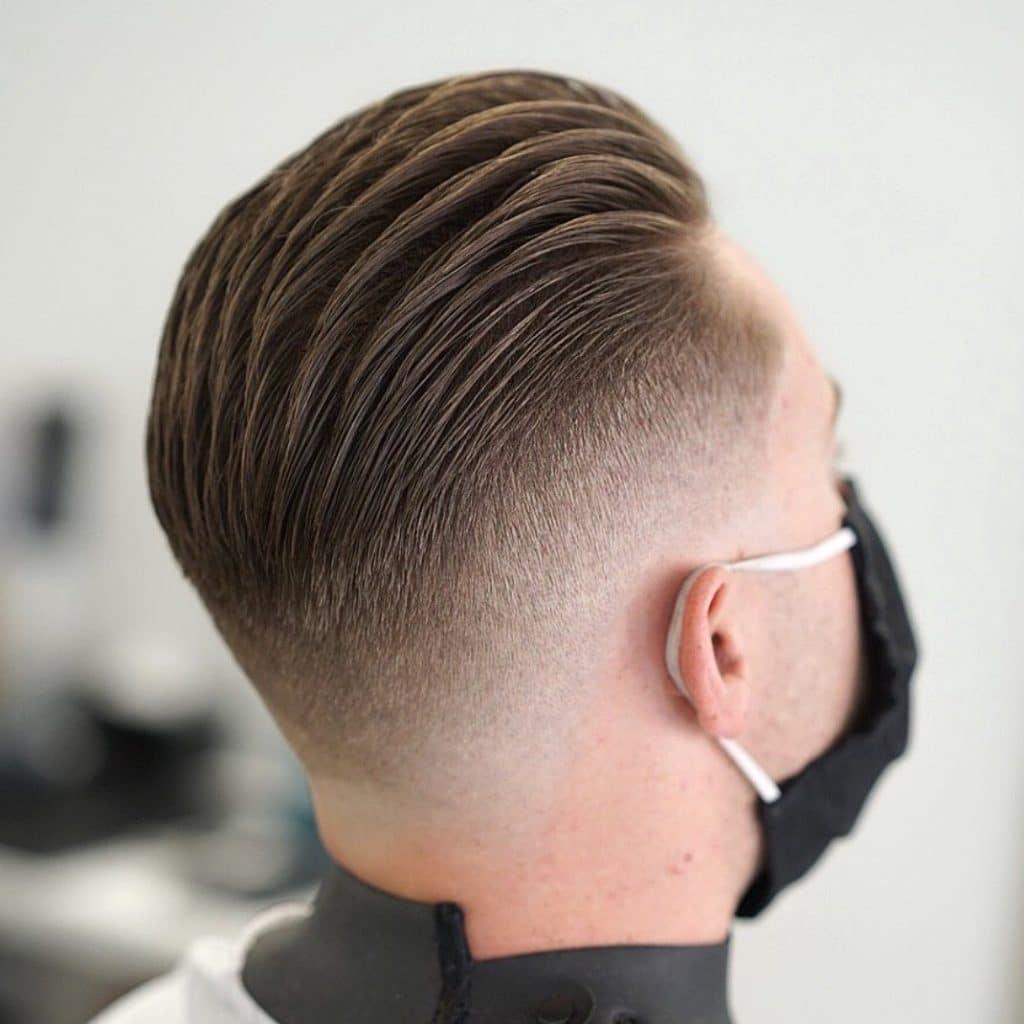 Fade haircut back